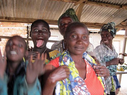 Villagers in Eastern DRC (Rachel Brass)