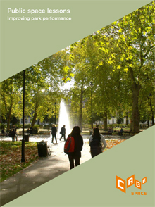 Cover of Improving park performance: public space lessons