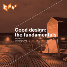 Cover of Good design: the fundamentals
