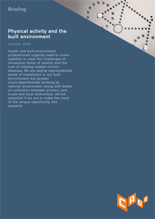 Cover of Physical activity and the built environment:
