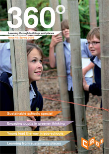 Cover of 360° magazine - Spring 2008:
