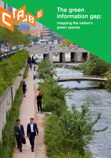 Cover of The green information gap: Mapping the nation's green spaces