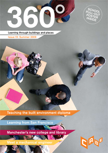 Cover of 360° magazine: Summer 2009