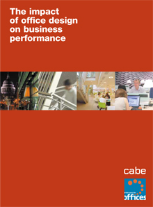 Cover of The impact of office design on business performance: