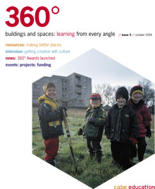 Cover of 360° magazine - Autumn 2004: