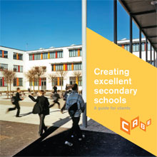 Cover of Creating excellent secondary schools: a guide for clients