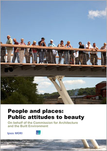Cover of People and places: Public attitudes to beauty