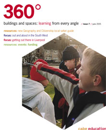 Cover of 360° magazine - Summer 2005: