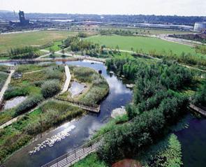 Ecology Park, Greenwich Millennium Village © Greenwich Millennium Village Ltd