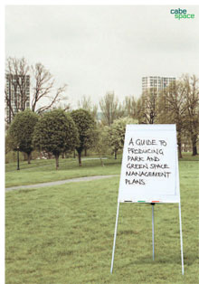 Cover of A guide to producing parks and green space management plans: