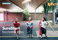 Cover of Sure Start: Every building matters