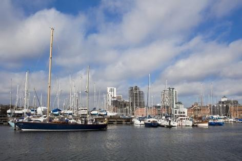 The waterfront is one of Ipswich's key assets and the town's fastest developing area. Photo by Haarala Hamilton