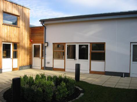Exterior courtyard space