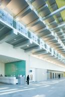 Internal balocnies overlook the large atrium space