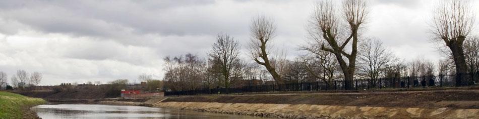 River Irwell flood control scheme