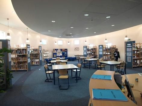 Learning resource centre. Photo by A&M Photography