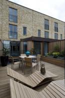 Decking on the Mccreanor Lavington-designed houses