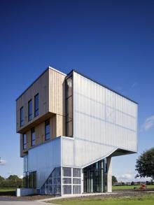 Creativexchange, an enterprise centre designed to attract and retain local creative talent in St Neots, Cambridgeshire