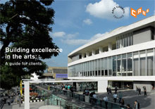 Cover of Building excellence in the arts: A guide for clients