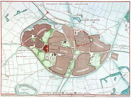 Poundbury master plan