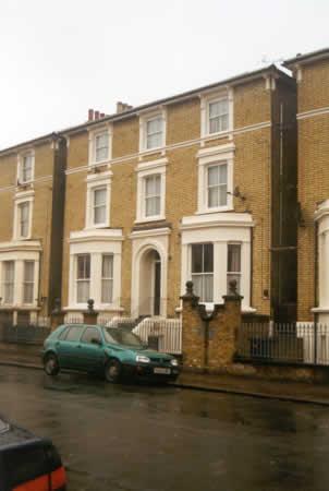 Adjacent Victorian villa-type properties