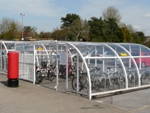 Cycle Parking, Bristol Parkway