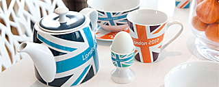London 2012 tableware