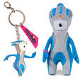 Mandeville 20cm soft toy and 3d key ring set