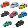 London 2012 Taxi collection – Taxi's 1 to 8
