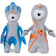 Wenlock and Mandeville 20 cm soft toys set