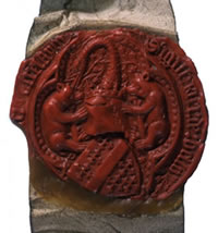 Seal of Richard Beauchamp, 13th Earl of Warwick - Catalogue reference: E 329/422