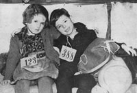 Kindertransport children - Image courtesy of The Wiener Library