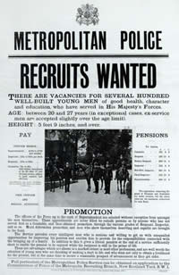 The Metropolitan Police Recruitment Poster