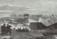 Illustrated London News - June 17 1865 - dreadful accident on the south-eastern railway, and loss of ten lives - Catalogue reference Reference ZPER 34/46