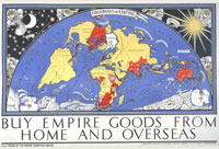 Highways of Empire poster, Empire Marketing Board, 1927 - Catalogue Reference: CO 956/537 A