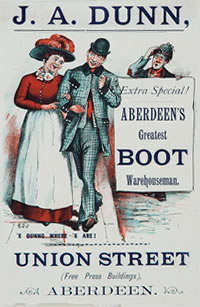 J. A. Dunn Aberdeens Boot Warehouseman - Catalogue reference COPY 1/114