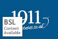 1911 census logo - BSL content available