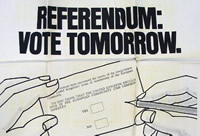 Referendum leaflet - Catalogue reference: INF 12/1285