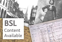 BSL content available -  Introduction to Family History