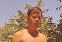 Joe Orton on holiday