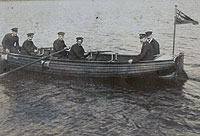 Photograph of a lifeboat - Catalogue reference: CUST 143/15