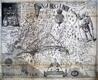 Map of Virginia in 1916 - Catalogue reference: MPG1/284