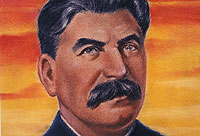 A colour portrait of Stalin - Catalogue reference: INF 3/78