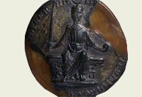 First Great Seal of Henry III - Catalogue reference: E 42/315