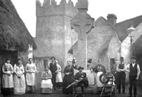 Inhabitants of an Irish village 1888 - Catalogue reference: COPY1/ 393