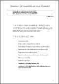 Circular 02/07: The Energy Performance of Buildings (Certificates and inspections) (England and Wales) Regulations 2007