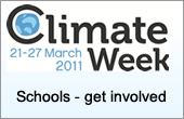 Climate week challenge - schools - have you say(external site, opens a new window)