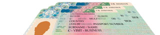 Picture of visas