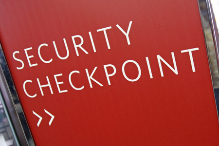 security checkpoint