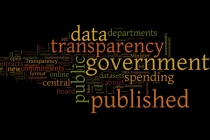 wordle for data and transparency; Crown copyright